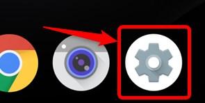 Android 設定ボタン